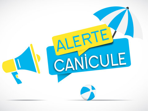 megaphone : alerte canicule