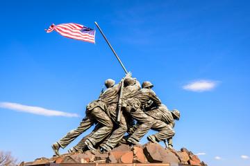 Marine Corps War Memorial.