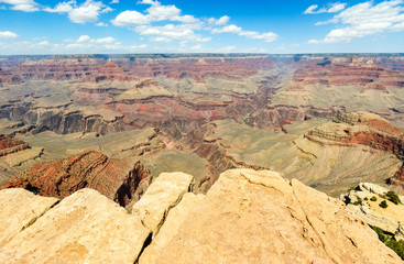 Jetting Rocks at Grand Canyon National Park