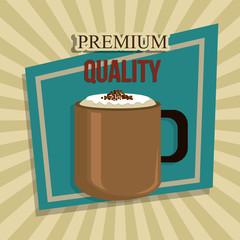 Coffee digital design.