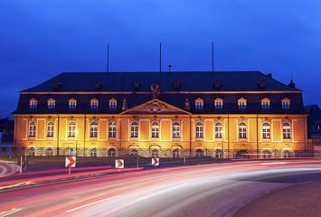 Staatskanzlei Rheinland-Pfalz. Mainz, Rhineland-Palatinate, Germ