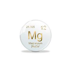 Periodensystem Kugel - Magnesium