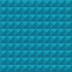 Abstract background, Blue triangles. Vector illustration.
