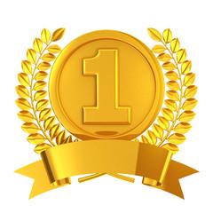 Gold medal emblem