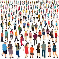 People. Vector illustration