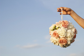 Picture of wedding bouquet
