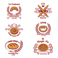 Bakery bread logos