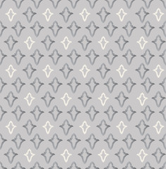 Abstract floral pattern. Geometric tiled texure