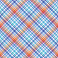 Seamless tartan pattern. Fabric texture. Vector background.