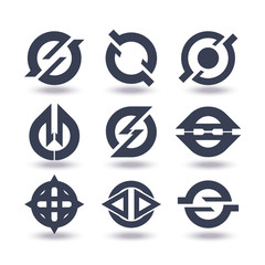 Business Icons Set Graphic Design Editable For Your Design.