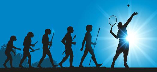 Hommes Evolution Tennis