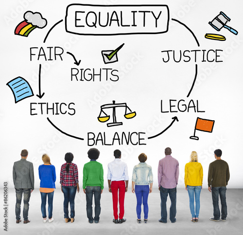 ethics of right and justice Right – each member of the university community has a right to be treated with  respect, equality and dignity, and to be able to participate in all.