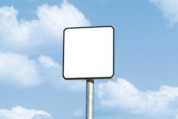 Empty Signboard