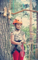 kid rock climber