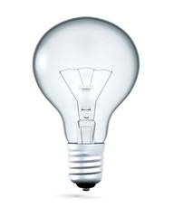 Lightbulb with Cartoon Proportions