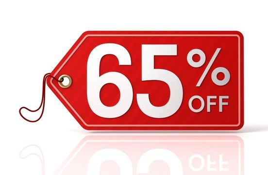 sixty five percent off sale