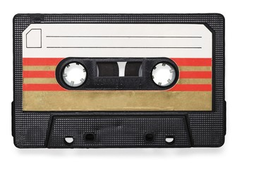 Tape, isolated, aged.