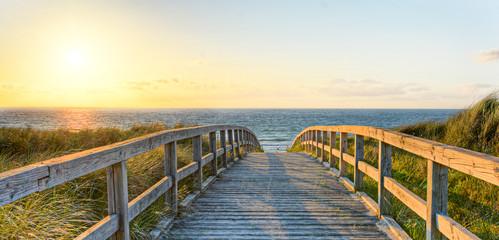 Fototapete - Urlaub, Wasser, Dünen