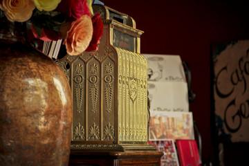 Old cash register, Ouro Preto, Minas Gerais, Brazil