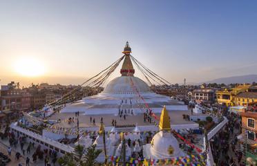 Boudhanath stupa kathmandu nepal