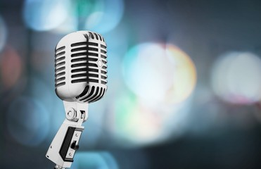 Microphone, Old, Retro Revival.