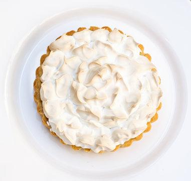 Cake or Lemon pie with meringue