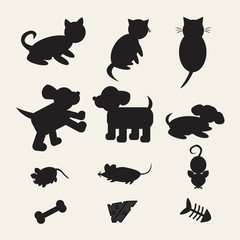 Silhouette Mix animals