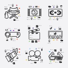 cinema infographic
