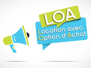 mégaphone : LOA