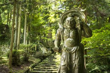 大分県 両子寺の仁王像