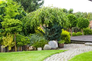 Obraz ogród - fototapety do salonu