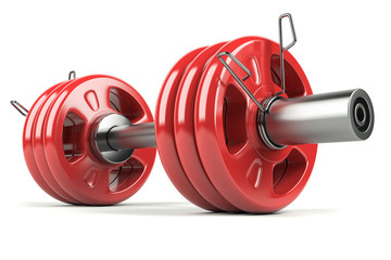 Dumbbell red