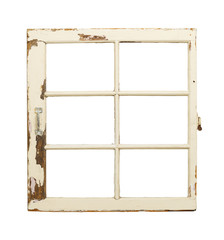 Old French Pane Window