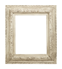 Old White Frame