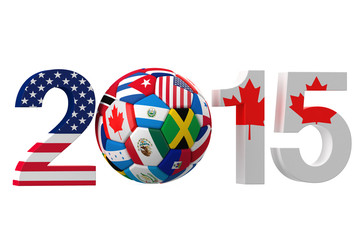 2015 Canada and USA  concept