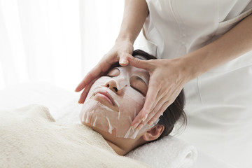 Small face massage
