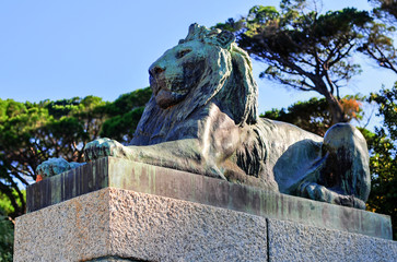 Cecil Rhodes Monument - Cape Town, South Africa