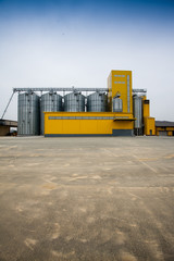Cereal silos