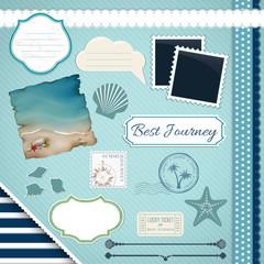 Scrapbooking Set: Summer journey