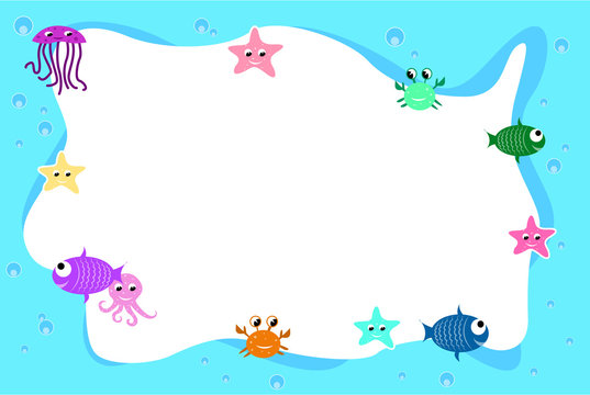 Sealife frame background