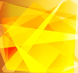 Abstract yellow triangle background