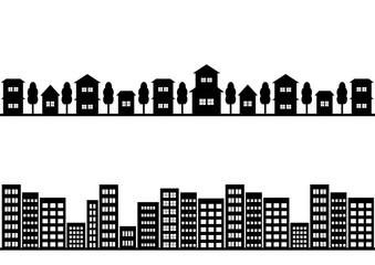街並 イラスト 背景