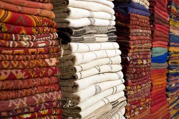 Caratteristica rivendita di tappeti al bazaar di Istanbul