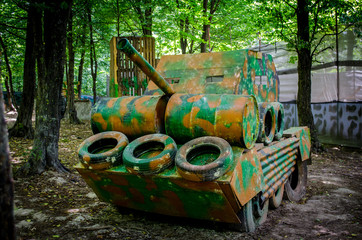 paintball hide