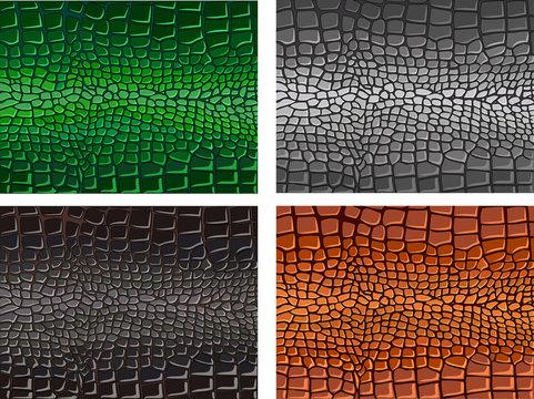 Reptile skin. background. texture. crocodile