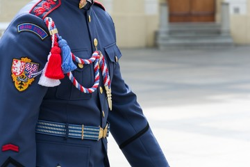 Uniform of the guard of Prague Castle