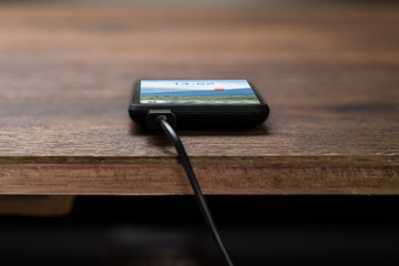 Mobile Phone On Charge