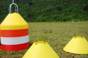 Socce cone markers photo