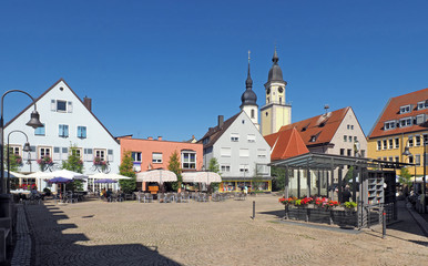 Schweinemarktplatz in Crailsheim