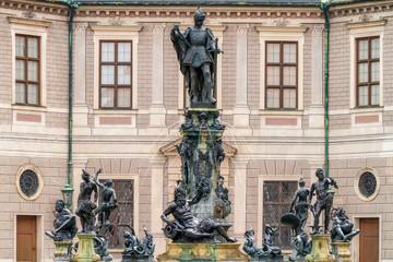 Wittelsbacher-Brunnen München  im Brunnenhof der Residenz